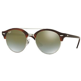 Ray-Ban Clubround Double Bridge Sonnenbrille RB4346-62519J-51