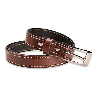 Hawkdale Thin Leather Belts - 0.75