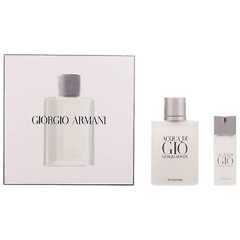Armani Acqua Di Gio Homme Pack 2 st (Man, parfymer, parfym)