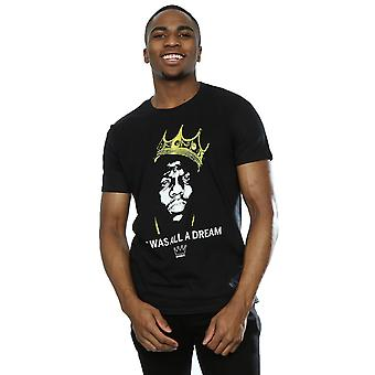 Notorious BIG mænds Biggie drøm Crown T-Shirt