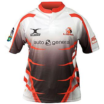 GILBERT Lions Away SupeRugby Rugby Shirt [white] RRP £65!