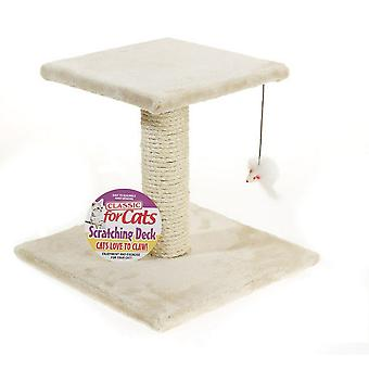 Caldex Classic One Tier Scratching Deck (Assorted Colours)