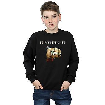 Disturbed Boys Fist Logo Sweatshirt