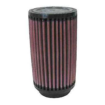 K&N RU-0620 Universal Clamp-On Air Filter: Round Straight; 2.25 in (57 mm) Flange ID; 6 in (152 mm) Height; 3.5 in (89 m