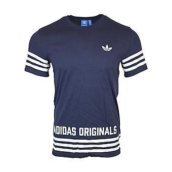Adidas Originals Herren Blue Street GFK-t-Shirt AZ1139