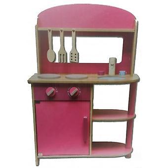 Pink toy kitchen 71 cm.