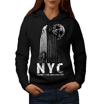 NY Cool Design mode kvinder BlackHoodie | Wellcoda