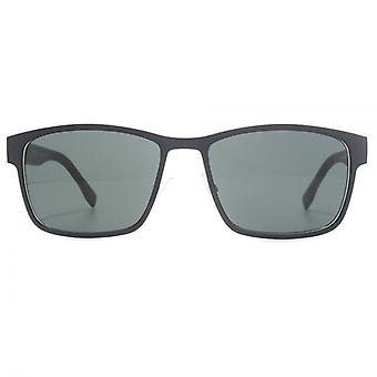 Hugo Boss Metall Square Sonnenbrillen In mattem Schwarz