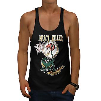 Repellent Tool  Joke Men BlackGym Tank Top | Wellcoda