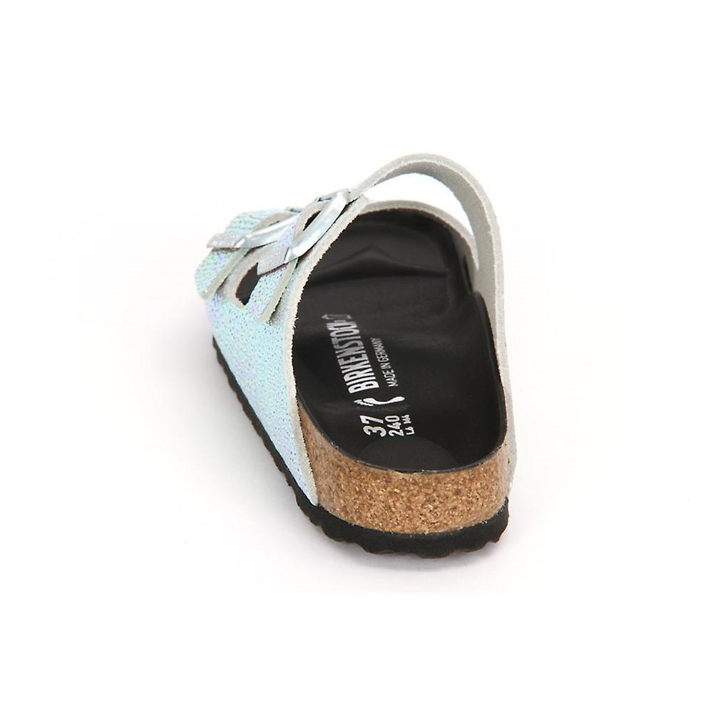 b649b1d645aabb Birkenstock Arizona Silver Black Ombre Pearls Leder 1003859 universal women  shoes
