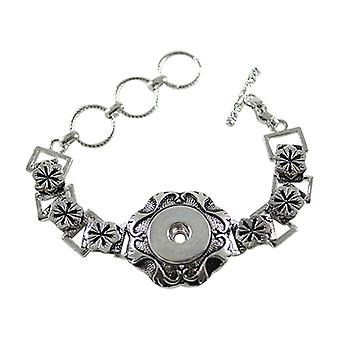 Stainless Steel Bracelet For Click Buttons Kb0189