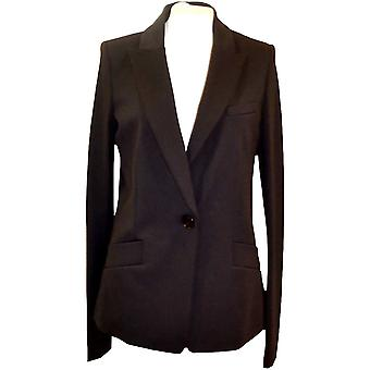 Pinko women's 1B12GY6197Z99 black cotton Blazer