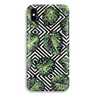iPhonegeval X volledige Print - geometrische jungle