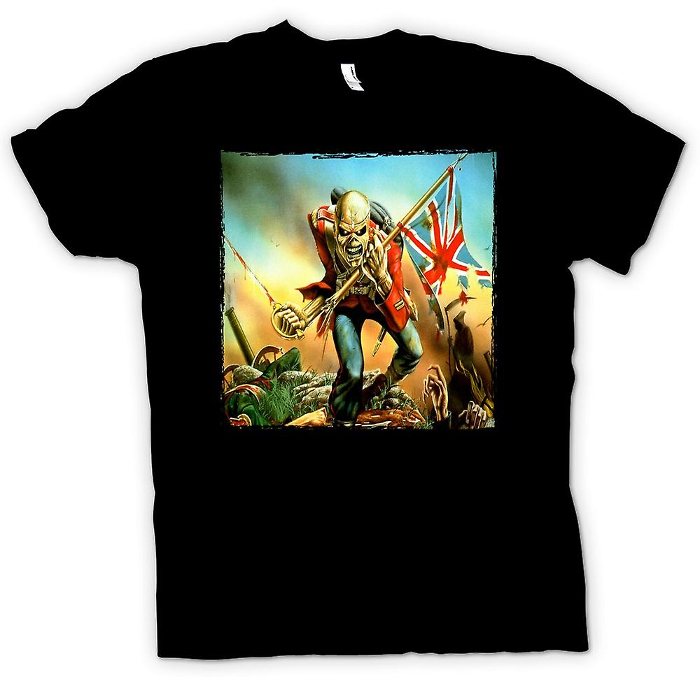 Mens T-shirt - Iron Maiden - Trooper - Album Art