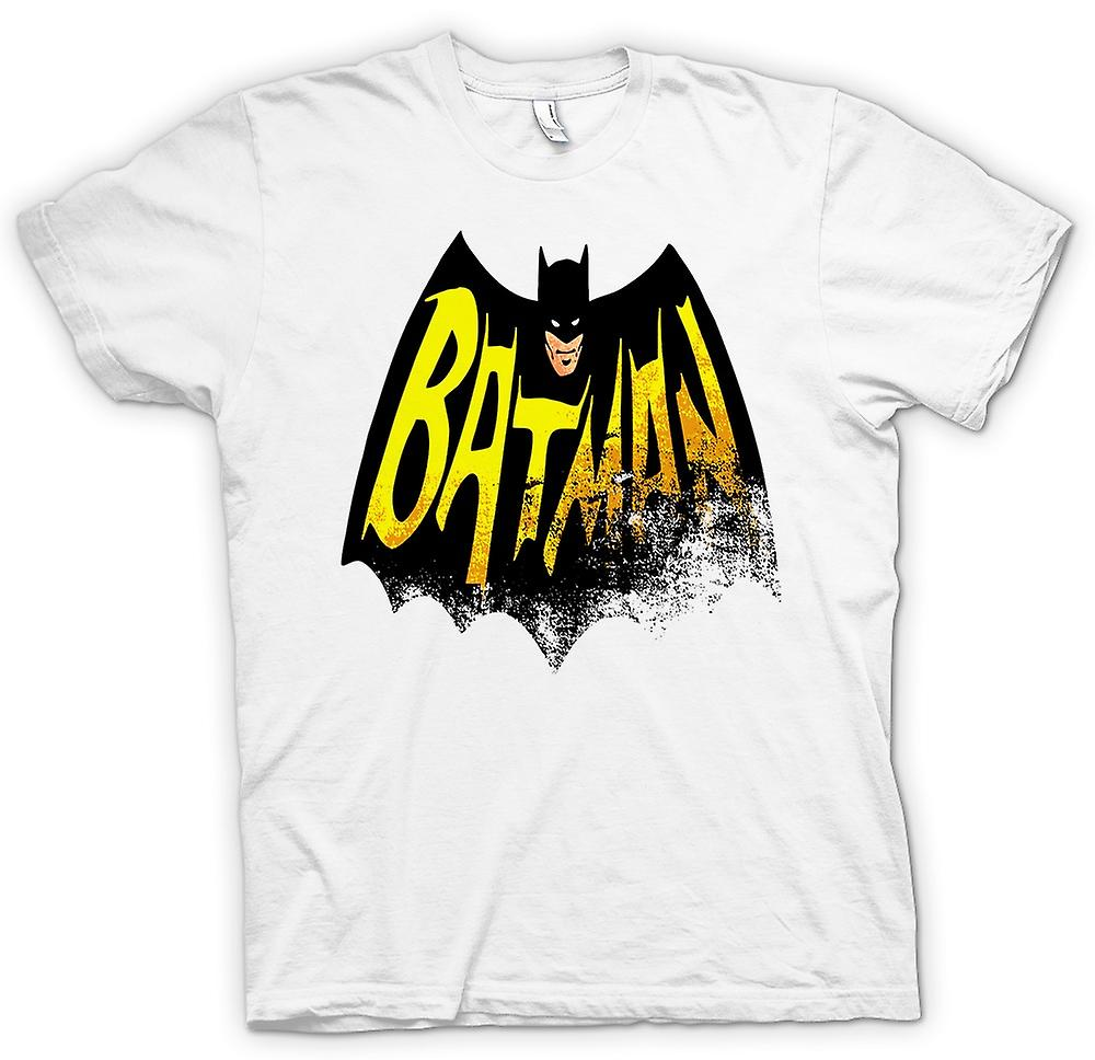 Womens T-shirt - Batmans Cape - Comic Hero