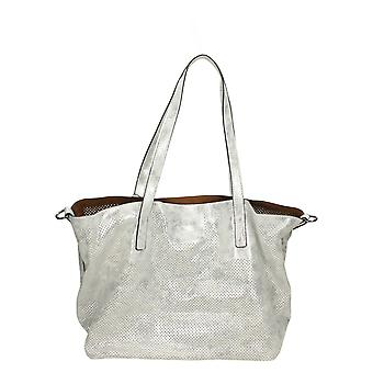 Ladies Remonte Detachable Inner Pocket Tote Bag Q0382-90 - Silver/Platinum Synthetic - One Size