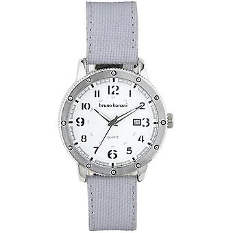 Bruno Banani watch wristwatch of GEROS leather analog BR30004
