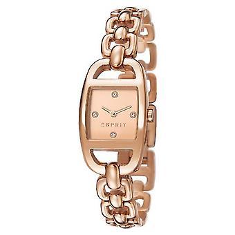 ESPRIT ladies watch bracelet watch Faye stainless steel Rosé ES107182002