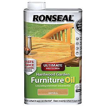 Ronseal 1 litro massima protezione in legno giardino mobili olio - naturale