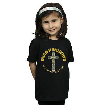 Ragazze di Dead Kennedys In God We Trust t-shirt