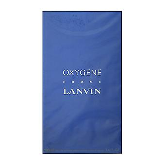 Lanvin Oxygene Homme Eau De Toilette Spray 3.4Oz/100ml New In Box