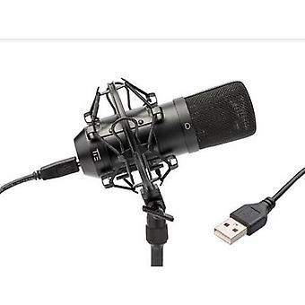 Binden Sie Studio Kondensator Mikrofon SW USB Studio Mikrofon schnurgebundene inkl. Erschütterungsabsorber, inkl. Kabel