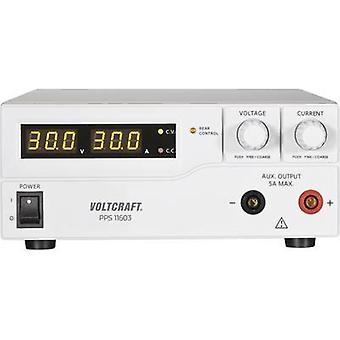 VOLTCRAFT PPS-11603 Bench PSU (adjustable voltage) 1 - 60 Vdc 0 - 2.5 A 160 W USB , Remote programmable No. of outputs 2