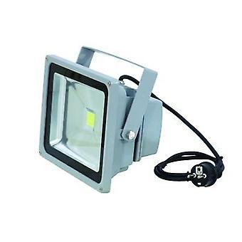 Eurolite LED IP FL-30 Outdoor LED spotlight No. of LEDs: 1 x 36 W Silver