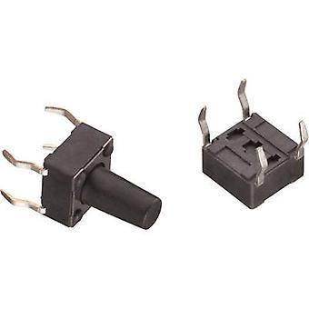 Würth Elektronik WS-TSS 430186050716 Pushbutton 12 Vdc 0.05 A 1 x Off/(On) momentary 1 pc(s)
