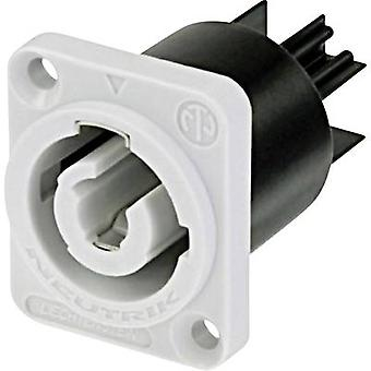 Mains connector powerCON Series (mains connectors) powerCON Plug, vertical mount Total number of pins: 2 + PE 20 A Grey