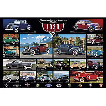 Cruisin Classics 1930S 1000 Piece Jigsaw Puzzle 680Mm X 490Mm