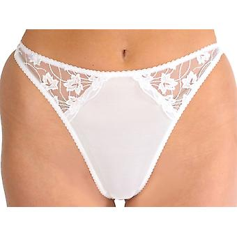 Silhouette Lingerie 'Cascade' Thong Briefs with Floral Lace