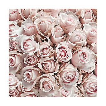 Ambiente 3 Ply Paper Napkins, Pastel Roses