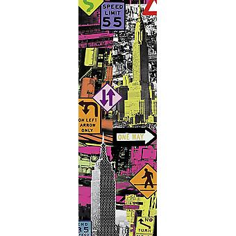 Downtown I New York Tom Frazier art print small format