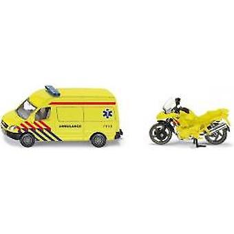 SIKU 1654 Krankenwagen mit motor