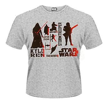 Star Wars-rouge méchants Character T-Shirt