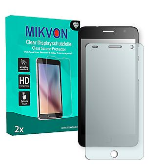 Alcatel OneTouch Pop Star Screen Protector - Mikvon Clear (Retail Package with accessories)