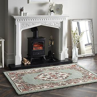 Shensi Light Green  Rectangle Rugs Traditional Rugs