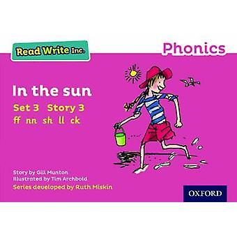 Read Write Inc. Phonics - Pink Set 3 Storybook 3 in the Sun by Gill Mu