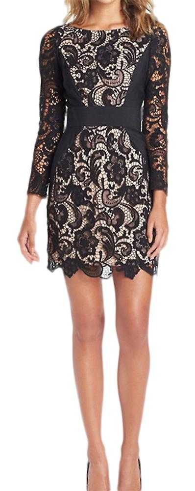 Waooh - Short dress with crochet finishing Nivi