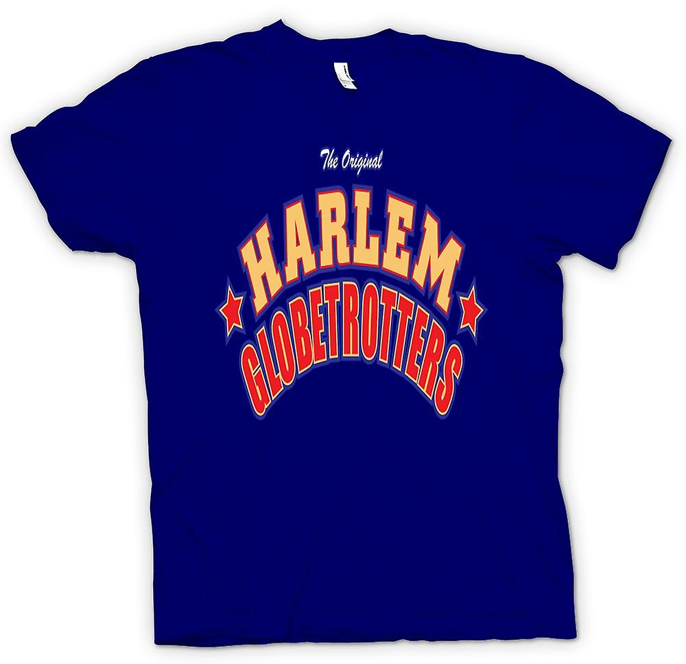 Heren T-shirt - Harlem Globetrotters - Basketbal