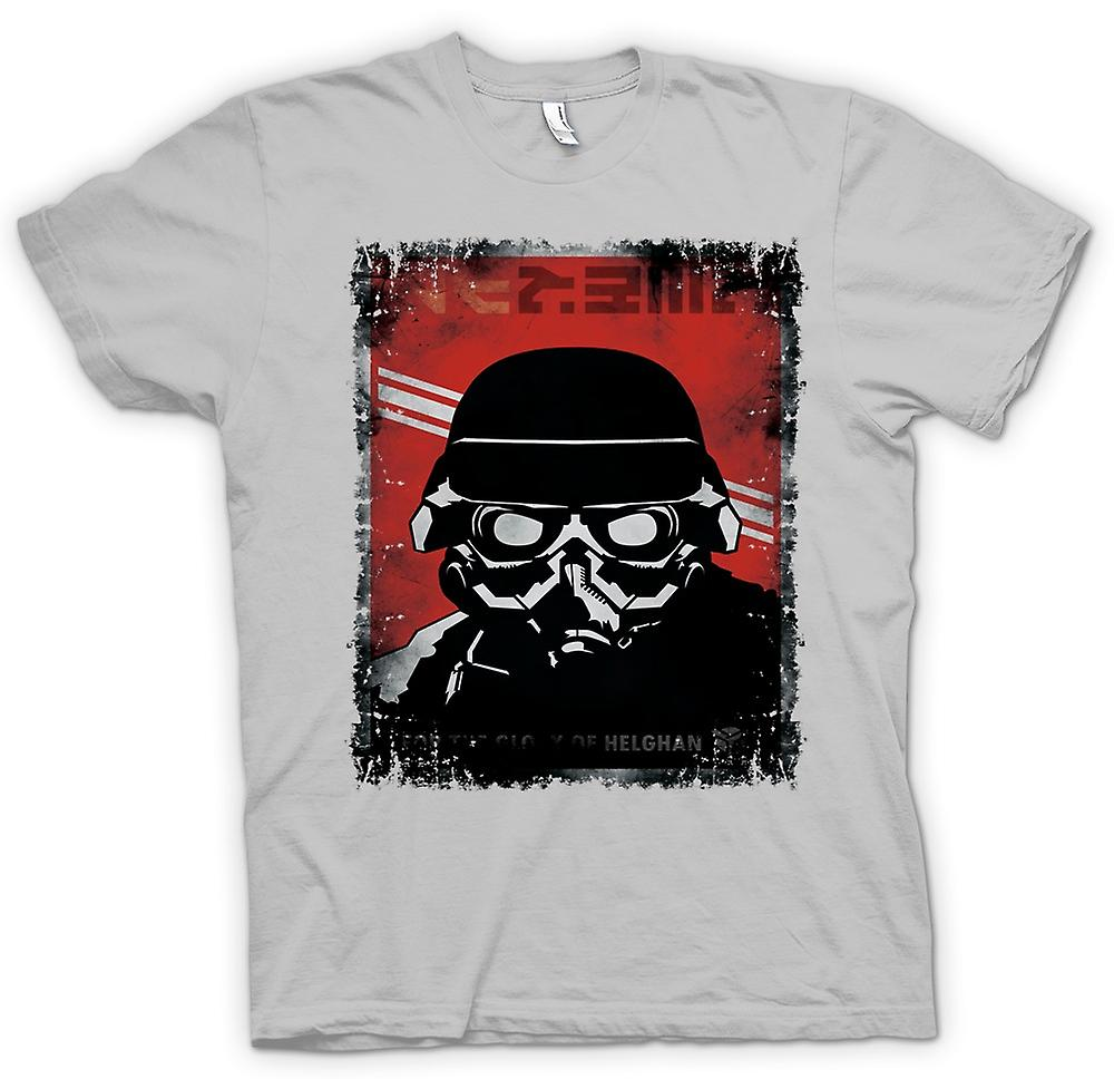 Mens t-skjorte-Kill Zone Helgan Gamer