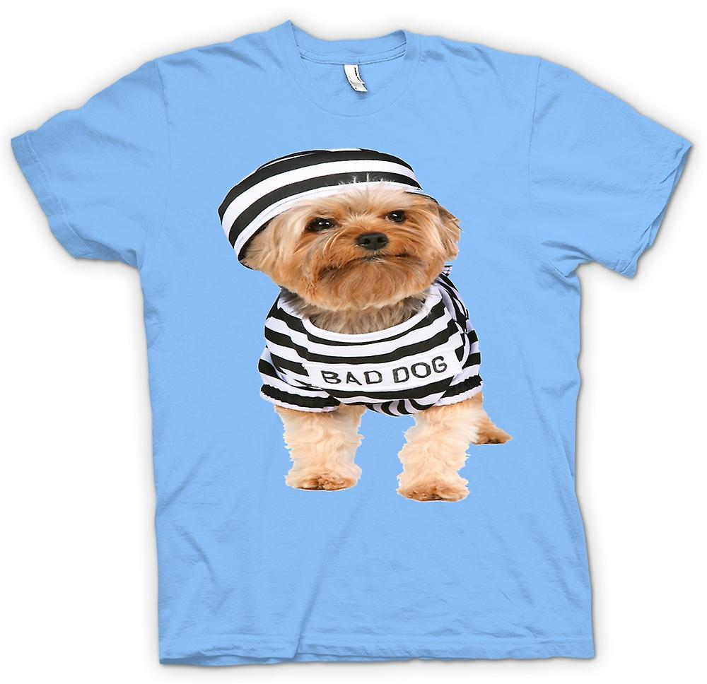 Mens T-shirt - Yorkshire Terrier - Bad Dog