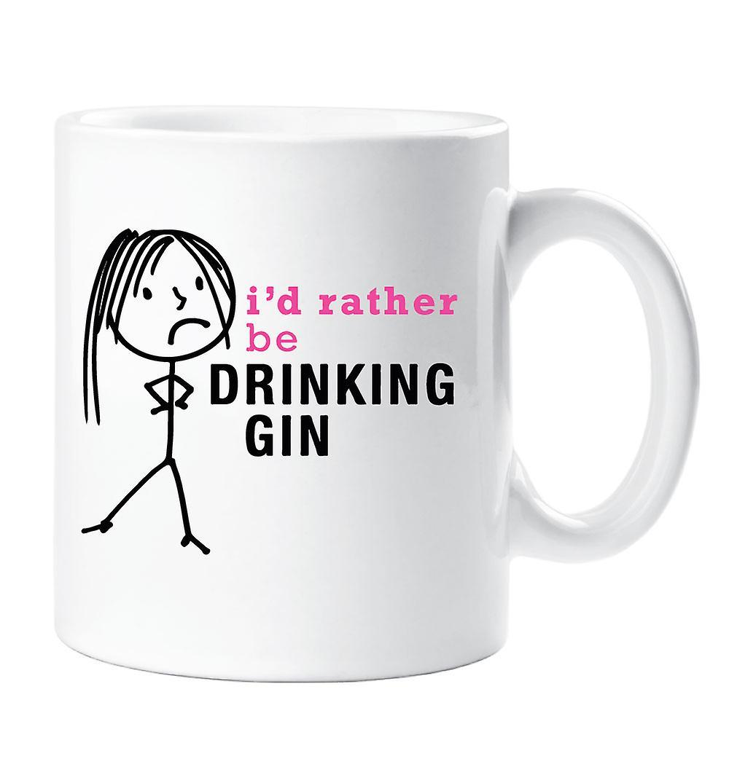 MesdamesJe Plutôt Boire Gin Mug Voudrais oBdxrCe