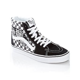 Vans Patch-svart-True vita SK8-Hi sko