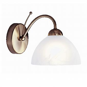 1131-1AB Milanese Antique Brass Single Wall Light