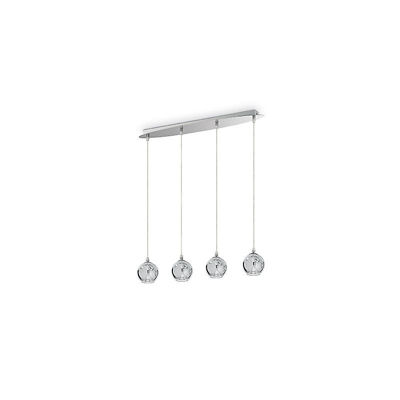 Discovery Cromo Chandelier 4 lumières