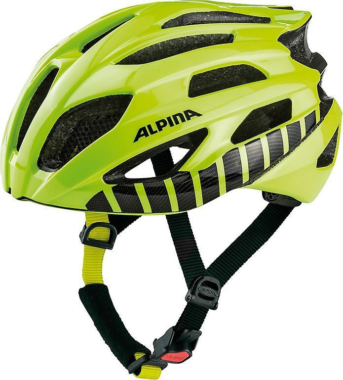 Alpina Fedaia Fahrradhelm    be visible vert