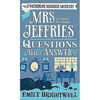 Mrs Jeffries frågor svaret