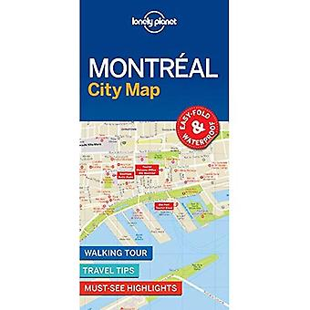 Lonely Planet Montreal City � Map